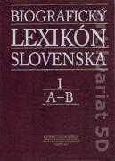 Biografický lexikón Slovenska I. A - B