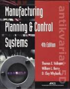 Manufacturing Planning&Control systems