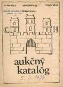 Aukčný katalóg 5. 6. 1976
