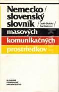 Nemecko slovenský slovník masových komunikačných prostriedkov