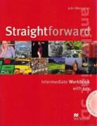 Straightforward Intermediate Workbook with key + CD