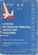 Letecká informační příručka aeroklubu svazarmu II.