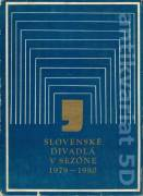 Slovenské divadlá v sezóne 1979 - 1980