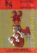 Heraldika a Genealogie 3 - 4 / 2005