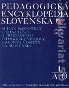 Pedagogická encyklopédia Slovenska 1 (A - O)