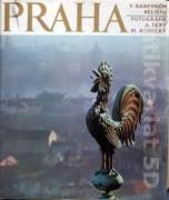 Praha v barevném reliéfu