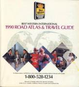 1990 road atlas and travel guide USA