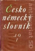 Česko - nemecký slovník 1. - 2. diel.