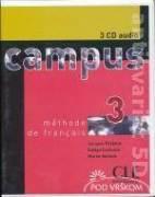 CAMPUS 3 MÉTHODE DE FRANCAIS - 3 CD