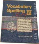 Vocabulary Spelling 3