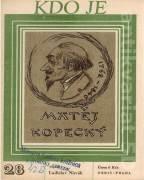 Kdo je Matěj Kopecký