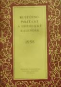 kolektív - Kultúrno - politický a historický kalendár / 1958 /