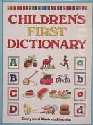 Children´s first dictionary