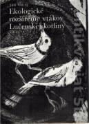 Ekologické rozšírenie vtákov Lučenskej kotliny