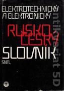 Rusko český elektrotechnický a elektronický slovník (1990)