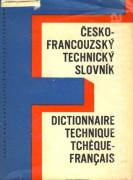 Česko francouzský technický slovník