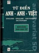English - English - Vietnamese dictionary