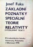 Základní poznatky speciální teorie relativity (Výzkumný text)