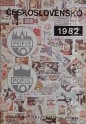 Československo 1982 - Dodatek katalogu poštvních známek