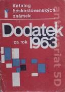 Katalog československých známek - Dodatek za rok 1963