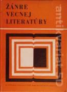 Žánre vecnej literatúry