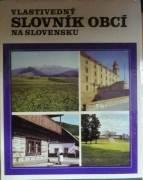Kolektív - Vlastivedný slovník obcí na Slovensku I. A - J