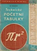 Technické početní tabulky