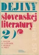 Dejiny slovenskej literatúry 2.