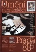 Umění na známkách ( Světová výstava poštovních známek Praga 1988 )