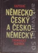 Kapesní německo - český a česko - německý technický slovník