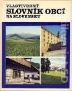 Vlastivedný slovník obcí na Slovensku 1