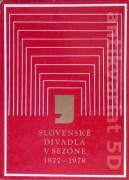 Slovenské divadlá v sezóne 1977 - 1978