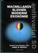 Macmillanuv slovník moderní ekonomie