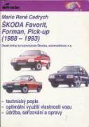ŠKODA FAVORIT, FORMAN, PICK - UP (1988 - 1993)