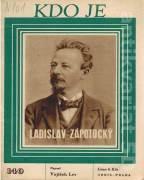 Kdo je Ladislav Zápotocký