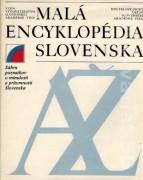 Malá encyklopédia Slovenska A - Ž
