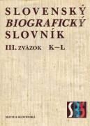 Slovenský biografický slovník III. K - L