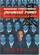 Modrooký zaměstnanrc Japonské firmy / vf /
