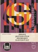 Druhy jazykových rozborov slovenčiny