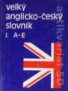 Velký anglicko - český slovník I. - IV.