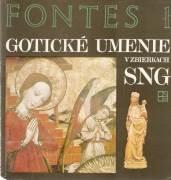 Gotické umenie v zbierkach SNG / vf /