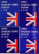 Velký anglicko - český slovník I., II., III., IV.