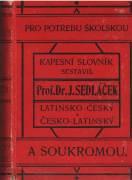 Kapesní slovník latinsko - český česko - latinský