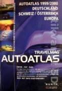 Travelmag Autoatlas 1999 / 2000 Deutschland, Schweiz / Osterreich Europa