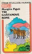 Tri gaštanové kone